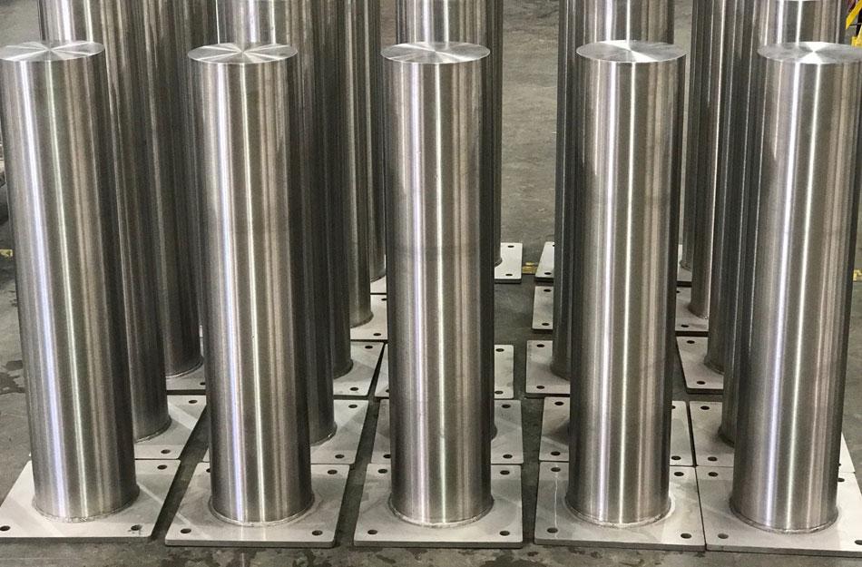 Stainless Steel Bollards | Shaw Stainless & Alloy Bollards