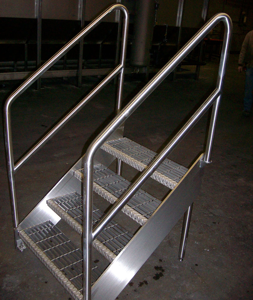Stainless Railings |Stainless Platforms | Stainless Stairs
