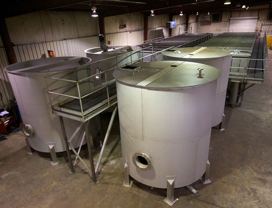 FLOC Tanks and Wastewater Tanks