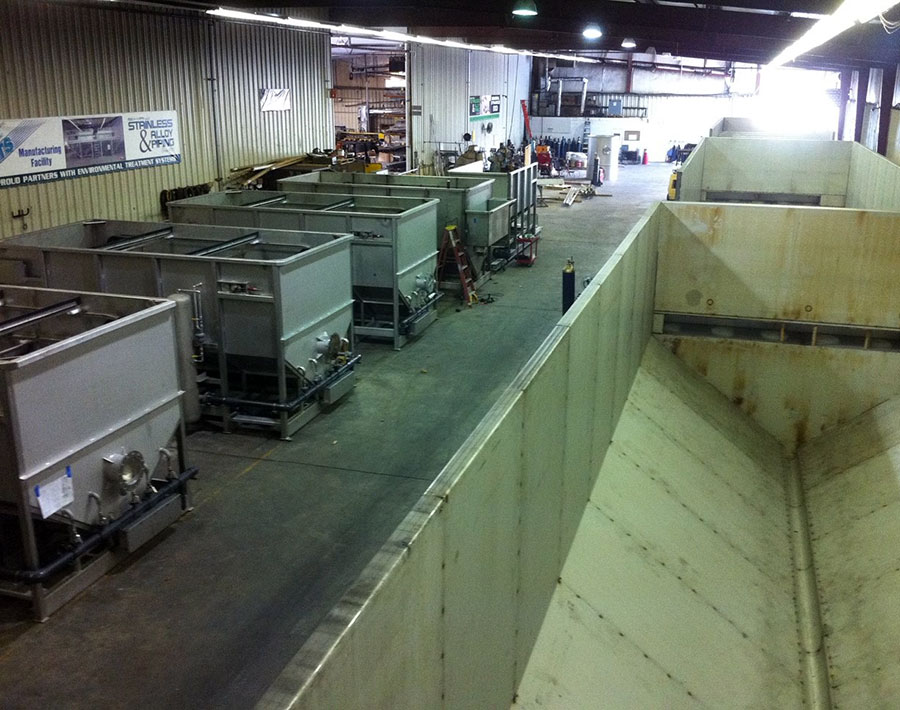 High Capacity Production Wastewater Equipment