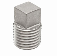 150 lb Stainless Steel Cast Square Plug