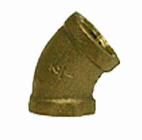 Bronze 45 Degree Elbows