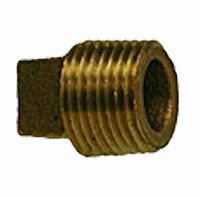 Bronze Square Head Cored Plugs