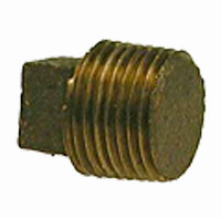 Bronze Square Head Solid Plugs