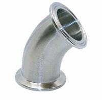 Sanitary Clamp 45 Degree Elbows