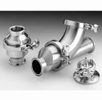 Stainless Steel Sanitary Spring Check Valves