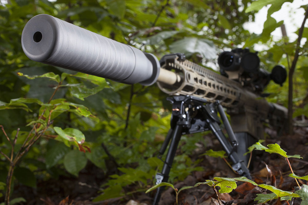 Firearm Suppressors Silencers for Military