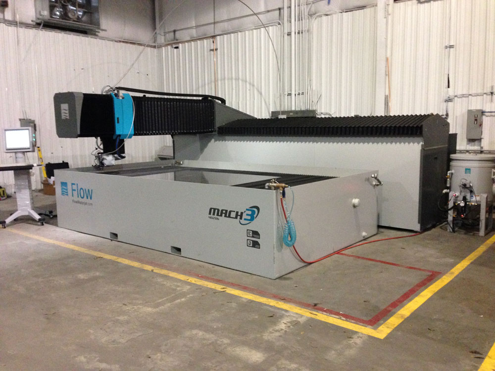 Stainless Steel Waterjet Cutting | Shaw Stainless & Alloy