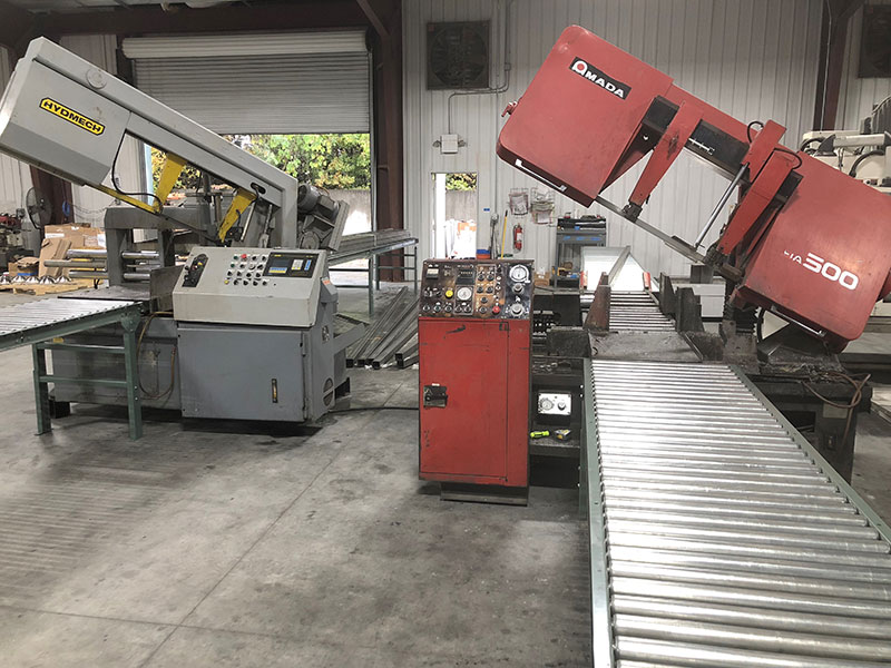 Precision Auto Feed Production Saw Cutting Lines