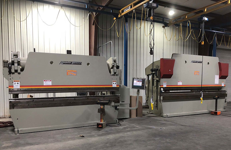Twin CNC Accurpress Brakes